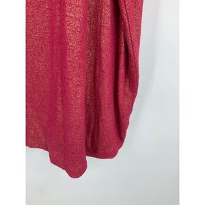 Lane Bryant Tops - Lane Bryant top 26/28 linen blend red gold party